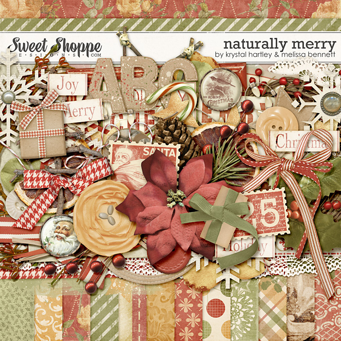 Naturally Merry by Krystal Hartley & Melissa Bennett