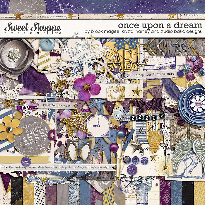 Once Upon a Dream by Brook Magee, Krystal Hartley & Studio Basic