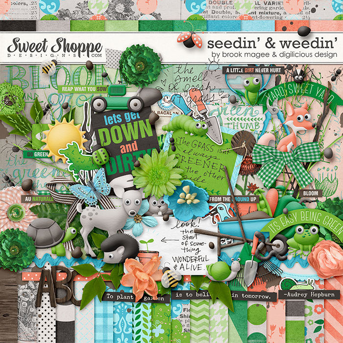 Seedin' & Weedin' by Brook Magee and Digilicious Design