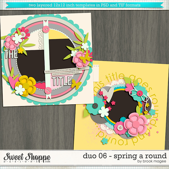 Brook's Templates - Duo 06 - Spring A Round