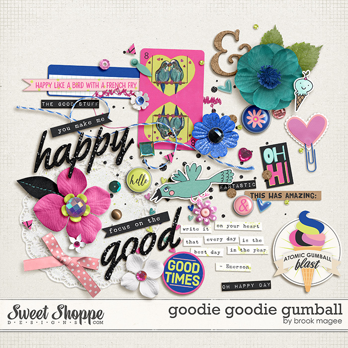 Goodie Goodie Gumball by Brook Magee
