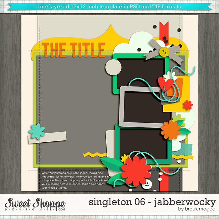Brook's Templates - Singleton 06 - Jabberwocky by Brook Magee