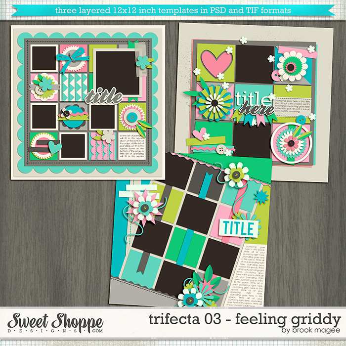 Brook's Templates - Trifecta 03 - Feeling Griddy by Brook Magee
