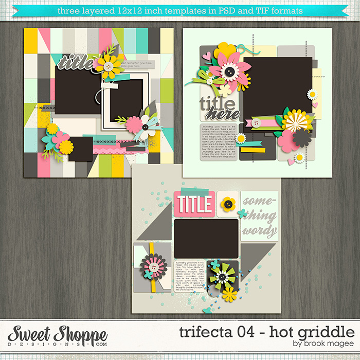 Brook's Templates - Trifecta 04 - Hot Griddle by Brook Magee