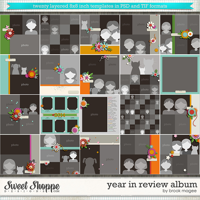 Brook's Templates - Year in Review Album by Brook Magee