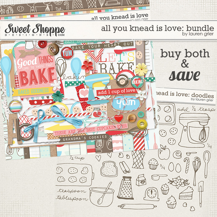 All You Knead is Love: Bundle by Lauren Grier