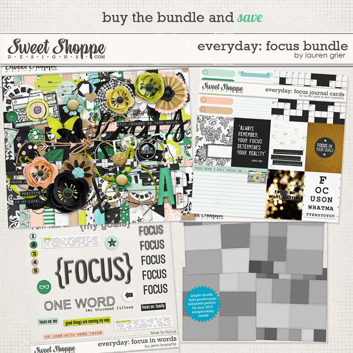 Everyday: Focus Bundle by Lauren Grier & Jenn Barrette