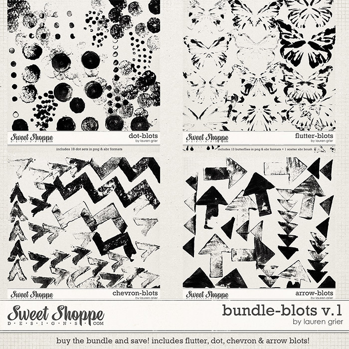 Bundle-Blots v.1 by lauren grier