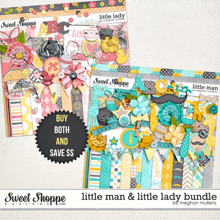 Little Man & Little Lady Bundle by Meghan Mullens