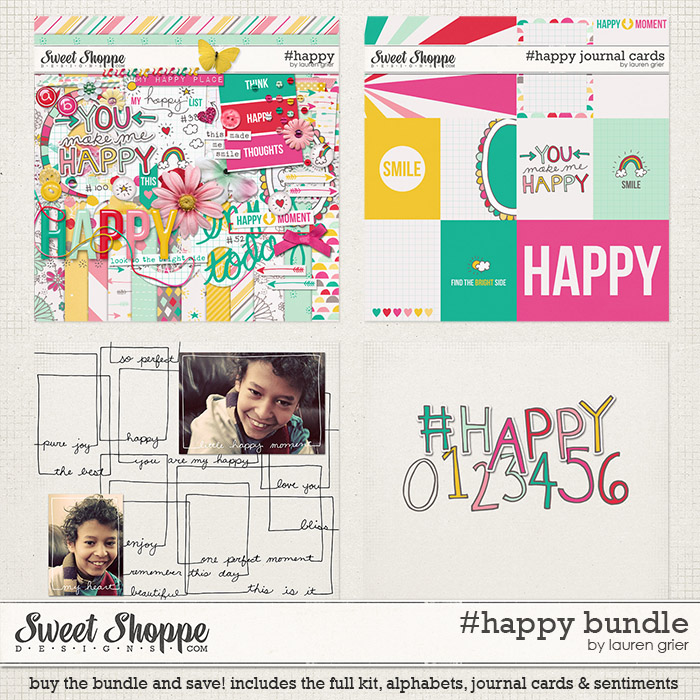 #happy bundle by lauren grier