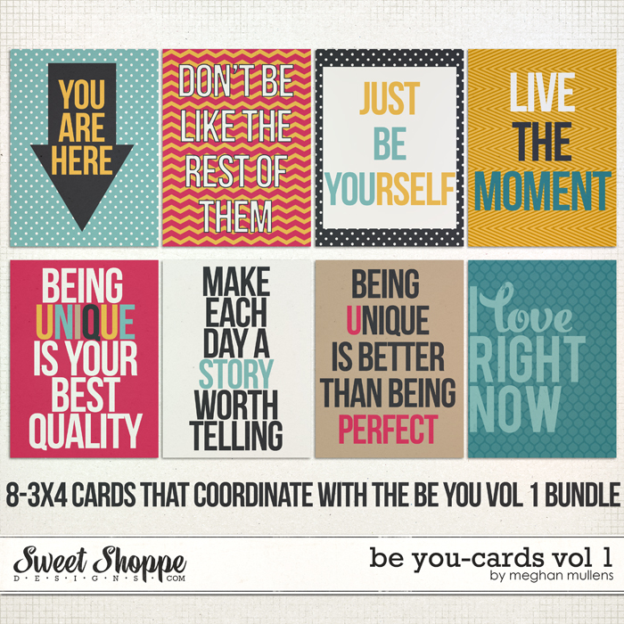 Be You - Cards Vol 1 by Meghan Mullens