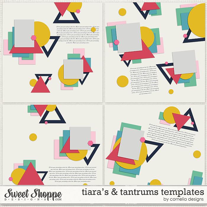 Tiaras & Tantrums Templates by Digilicious Design & Cornelia Designs