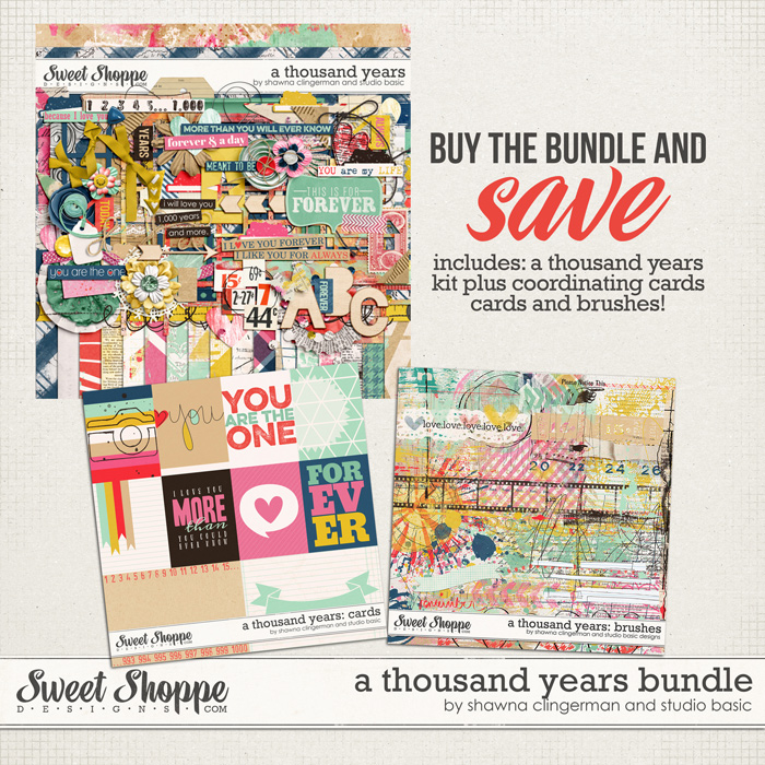 A Thousand Years: Bundle by Shawna Clingerman and Studio Basic