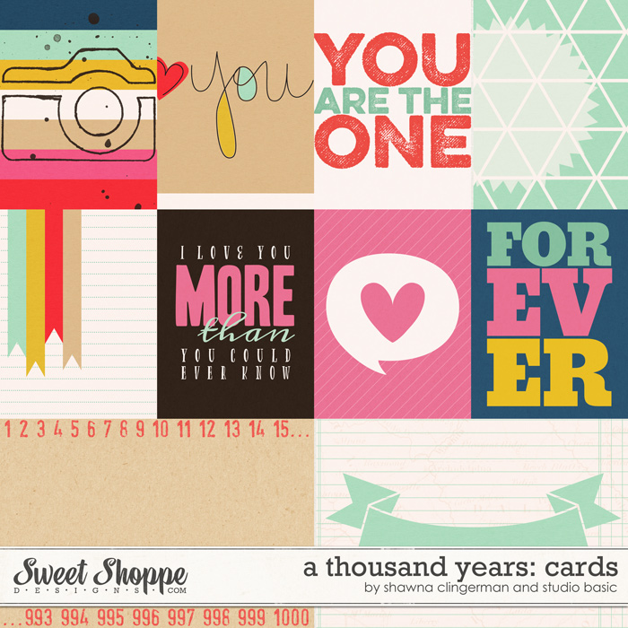 A Thousand Years: Cards by Shawna Clingerman and Studio Basic