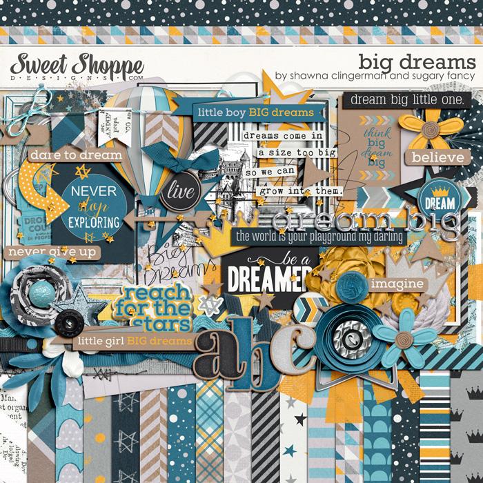 Big Dreams by Shawna Clingerman and Sugary Fancy