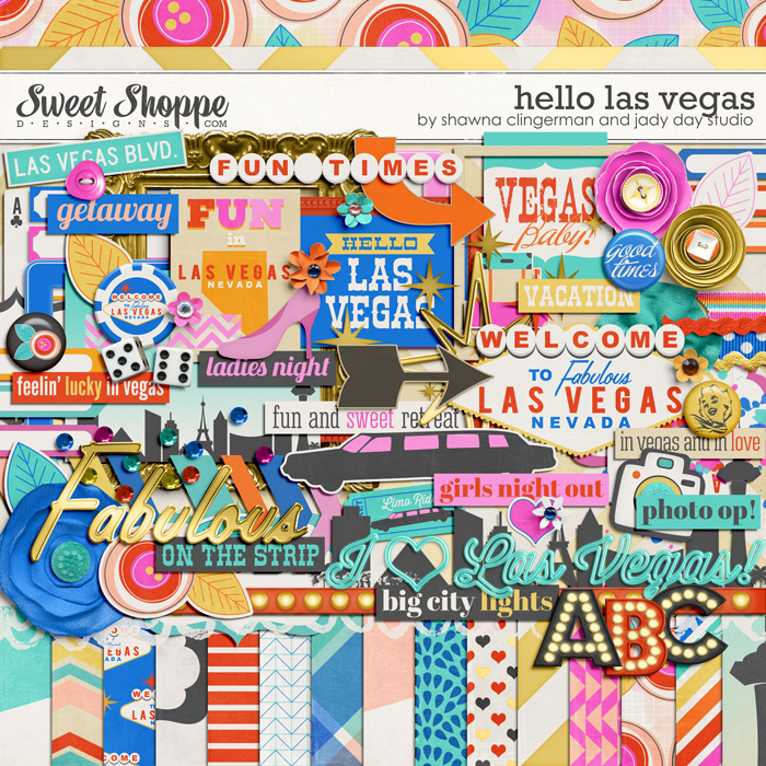 Hello Las Vegas by Shawna Clingerman and Jady Day Studio