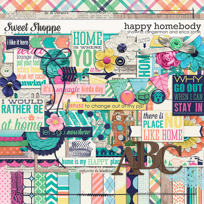 Happy Homebody by Shawna Clingerman & Erica Zane
