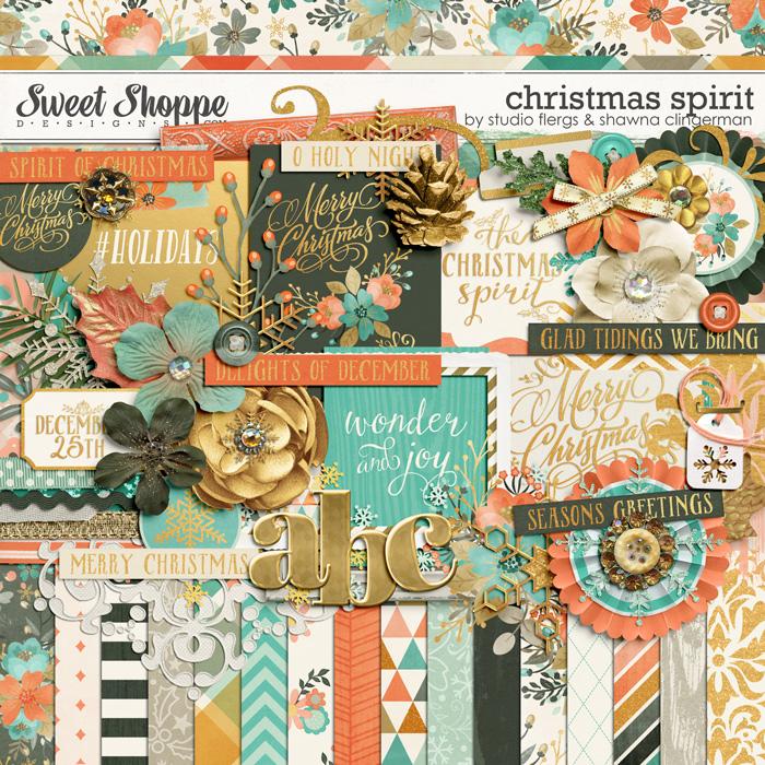 Christmas Spirit by Shawna Clingerman & Studio Flergs