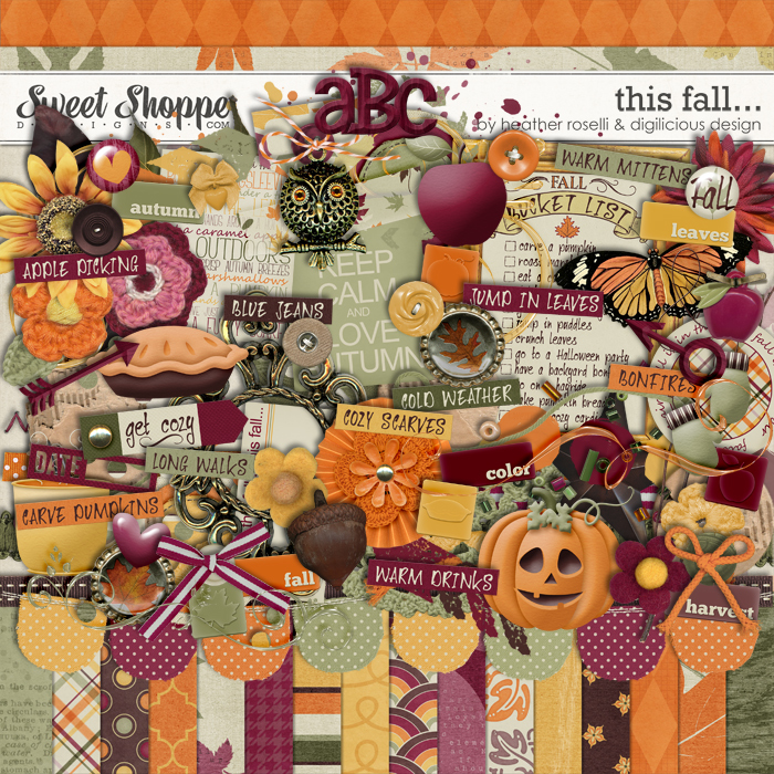 This Fall by Digilicious Design & Heather Roselli