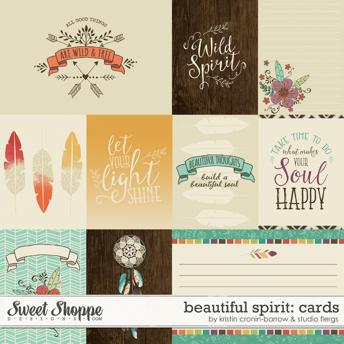 Beautiful Spirit: CARDS by Kristin Cronin-Barrow & Studio Flergs