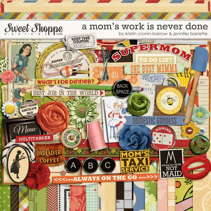 A Mom's Job Is Never Done by Kristin Cronin Barrow and Jenn Barrette