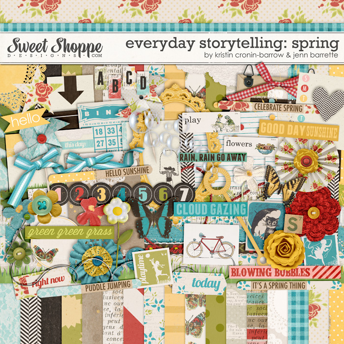 Everyday Storytelling: Spring by Kristin Cronin-Barrow and Jenn Barrette