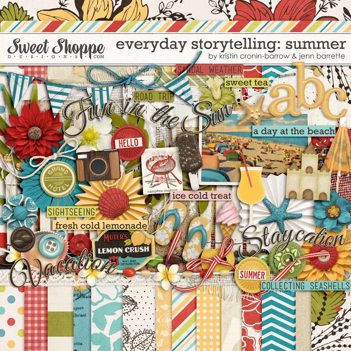 Everyday Storytelling: Summer by Kristin Cronin Barrow and Jenn Barrette