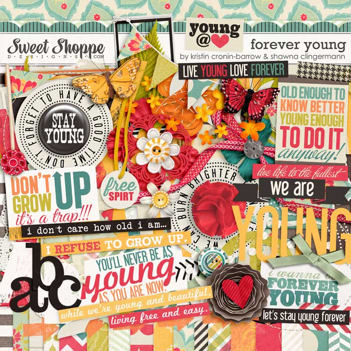 Forever Young by Kristin Cronin-Barrow and Shawna Clingerman