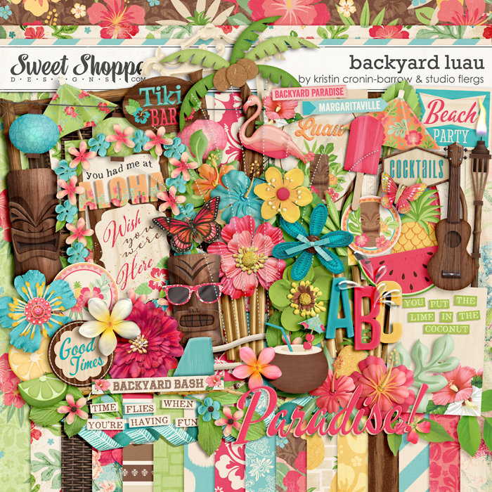 Backyard Luau by Kristin Cronin-Barrow & Studio Flergs