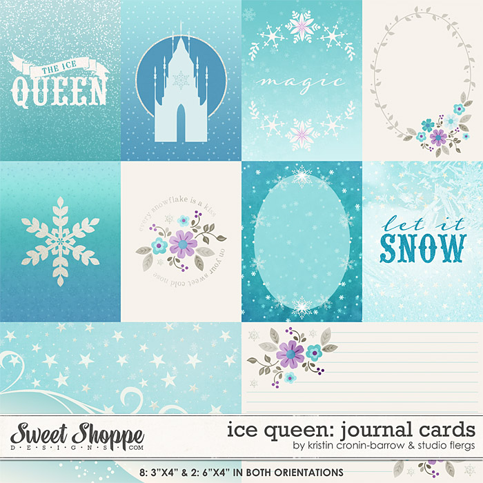 Ice Queen: JOURNAL CARDS by Studio Flergs & Kristin Cronin-Barrow