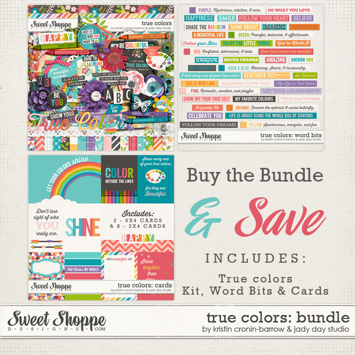 True Colors Bundle by Kristin Cronin-Barrow & Jady Day Studio