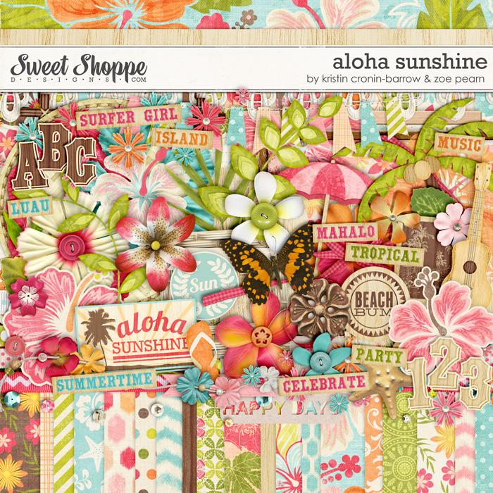Aloha Sunshine by Kristin Cronin-Barrow & Zoe Pearn