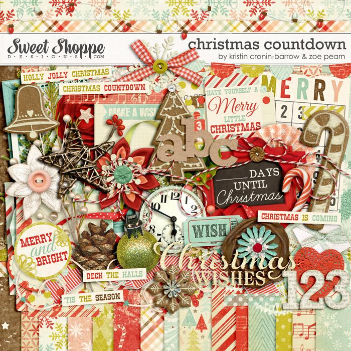Christmas Countdown by Kristin Cronin-Barrow & Zoe Pearn