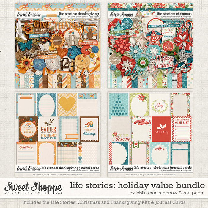 Life Stories: Holiday Value Bundle by Kristin Cronin-Barrow & Zoe Pearn