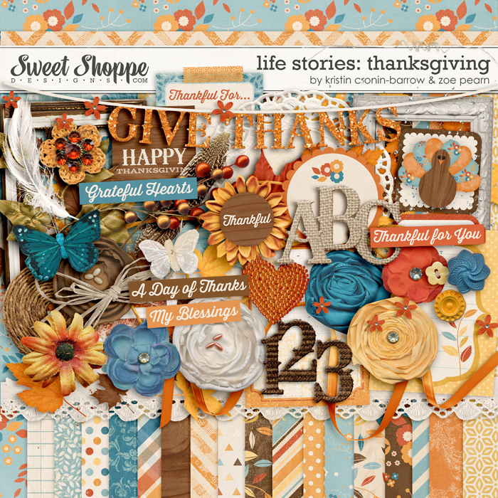 Life Stories: Thanksgiving by Kristin Cronin-Barrow & Zoe Pearn