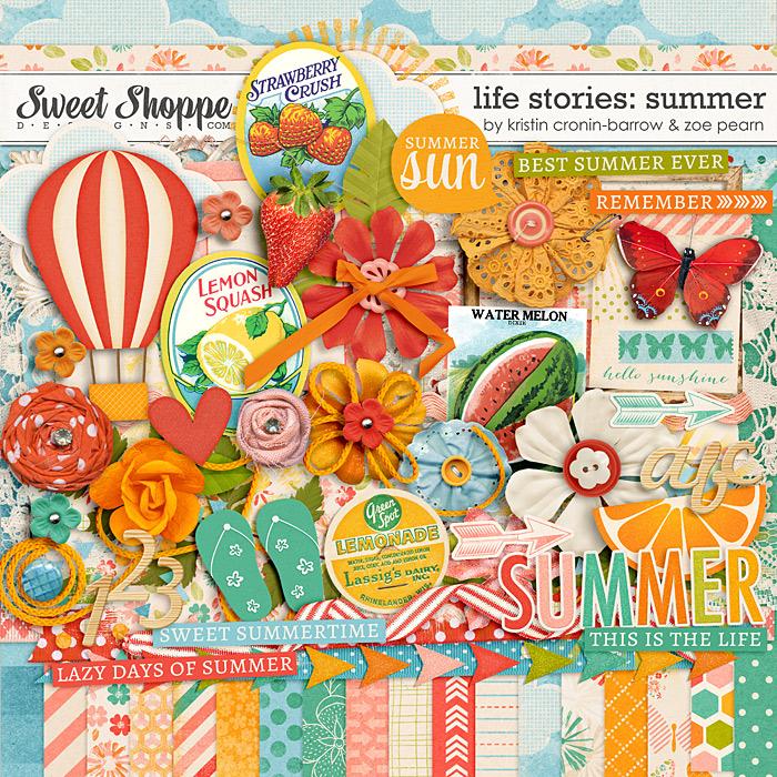 Life Stories: Summer by Kristin Cronin-Barrow & Zoe Pearn