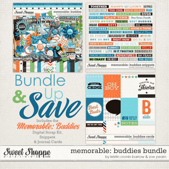 Memorable: Buddies Value Bundle by Kristin Cronin-Barrow & Zoe Pearn