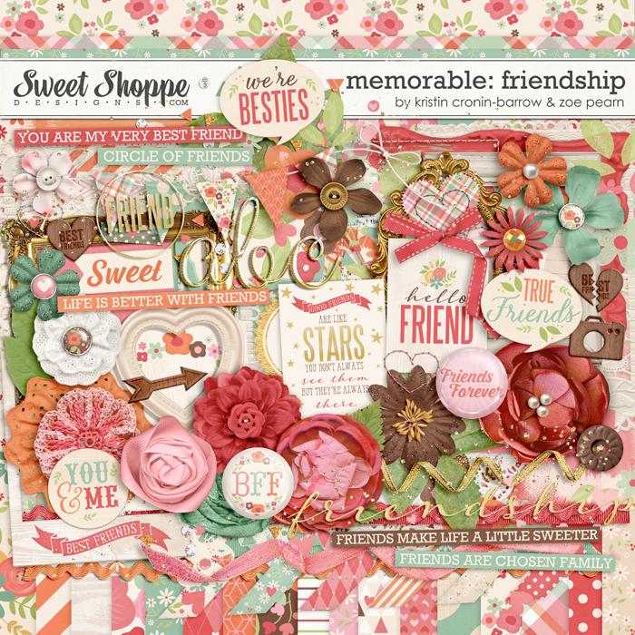 Memorable: Friendship by Kristin Cronin-Barrow & Zoe Pearn