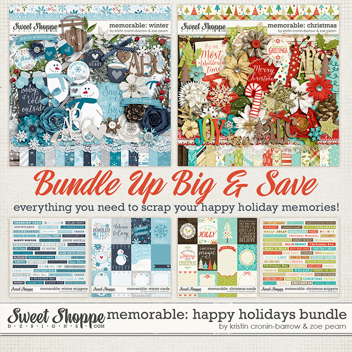Memorable: Happy Holidays Big Bundle by Kristin Cronin-Barrow & Zoe Pearn