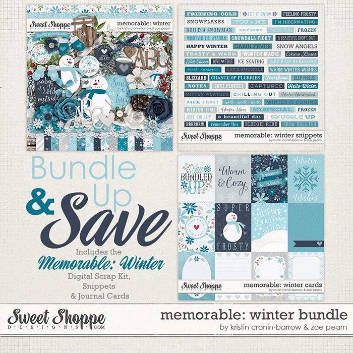 Memorable: Winter Value Bundle by Kristin Cronin-Barrow & Zoe Pearn