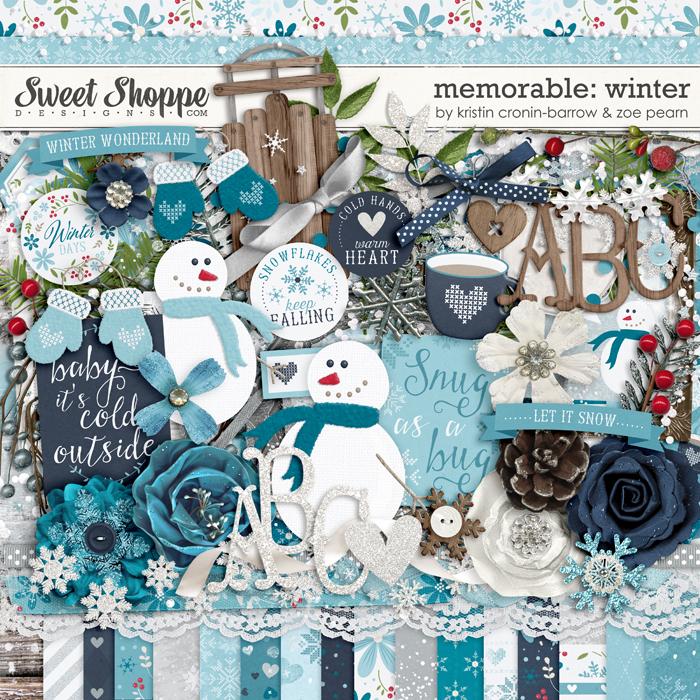 Memorable: Winter by Kristin Cronin-Barrow & Zoe Pearn