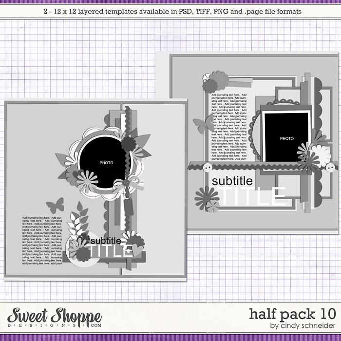 Cindy's Layered Templates - Half Pack 10 by Cindy Schneider
