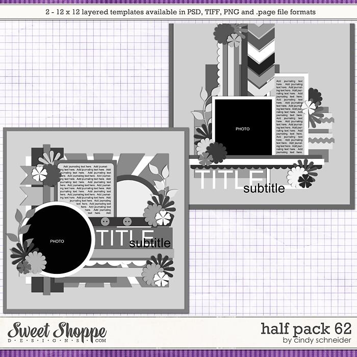 Cindy's Layered Templates - Half Pack 62 by Cindy Schneider