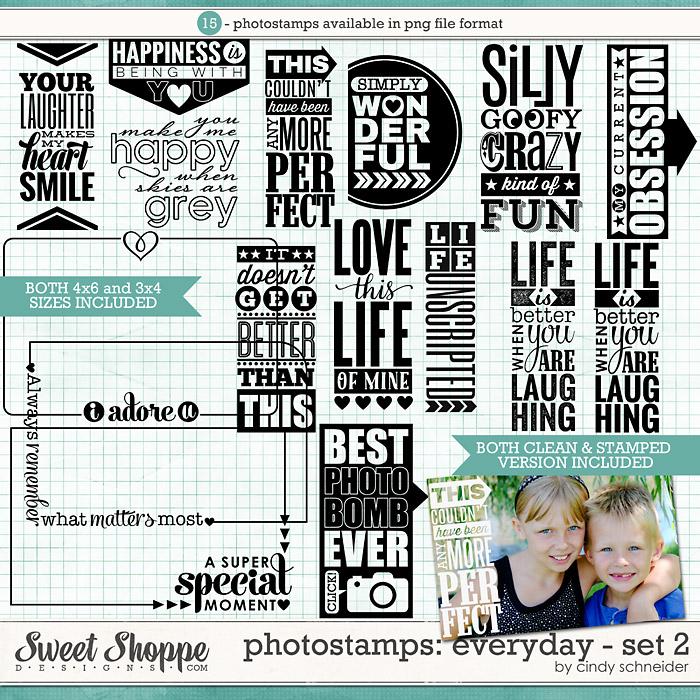 Cindy's Photostamps - Everyday Set 2 by Cindy Schneider