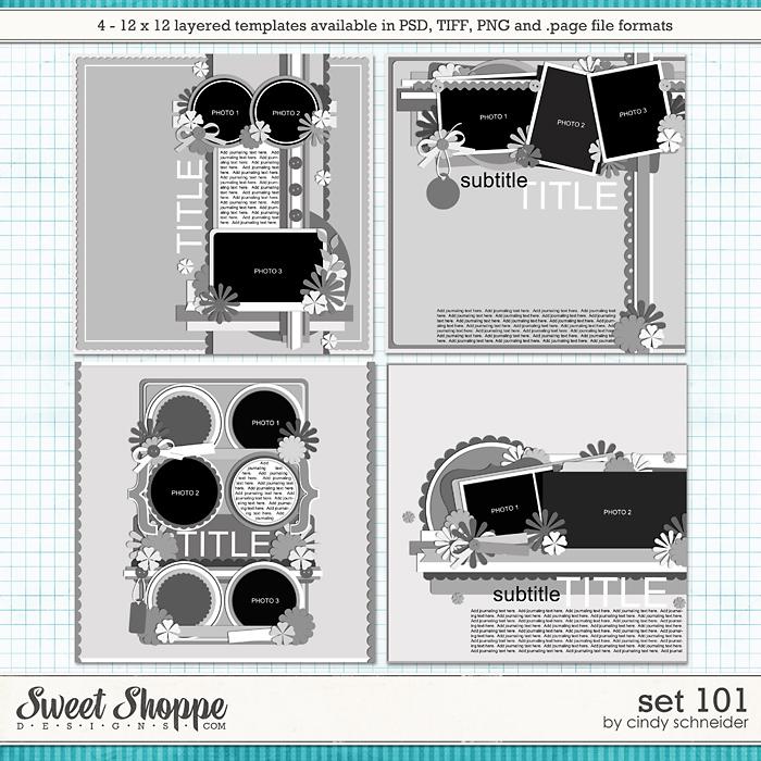 Cindy's Layered Templates - Set 101 by Cindy Schneider
