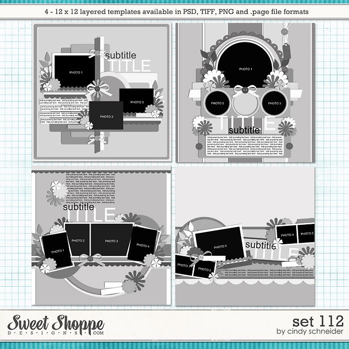 Cindy's Layered Templates - Set 112 by Cindy Schneider