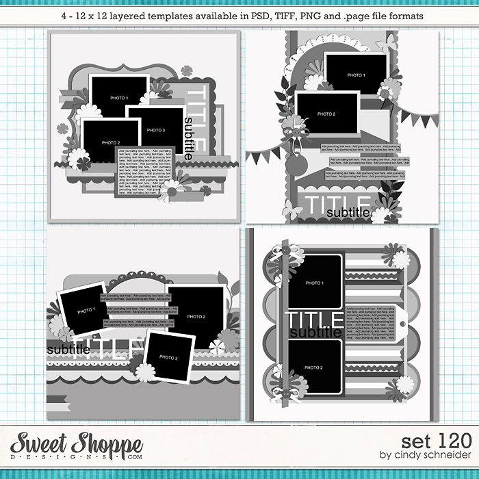 Cindy's Layered Templates - Set 120 by Cindy Schneider