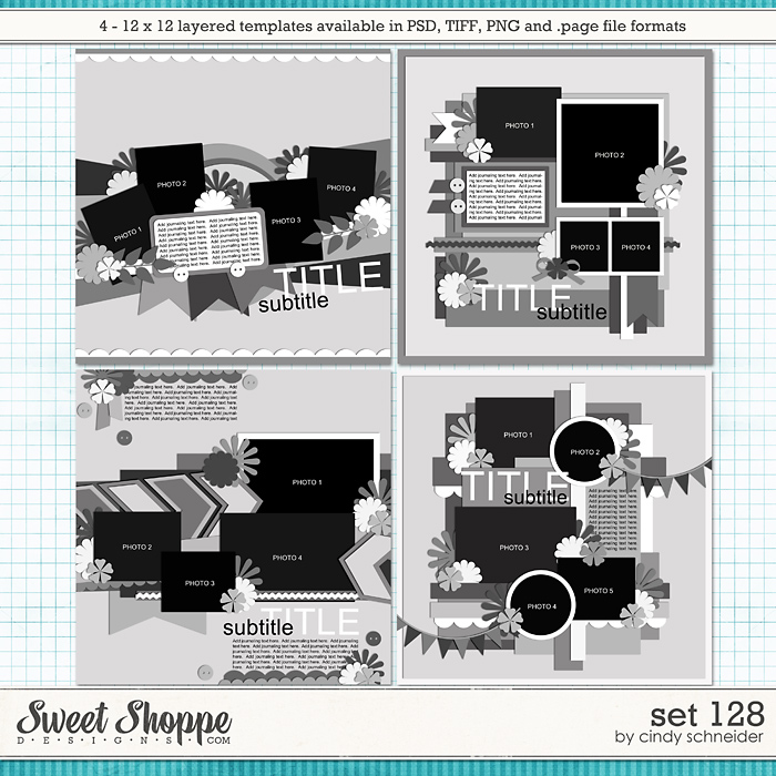 Cindy's Layered Templates - Set 128 by Cindy Schneider