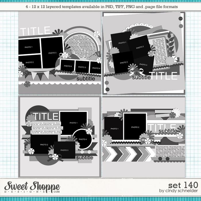 Cindy's Layered Templates - Set 140 by Cindy Schneider