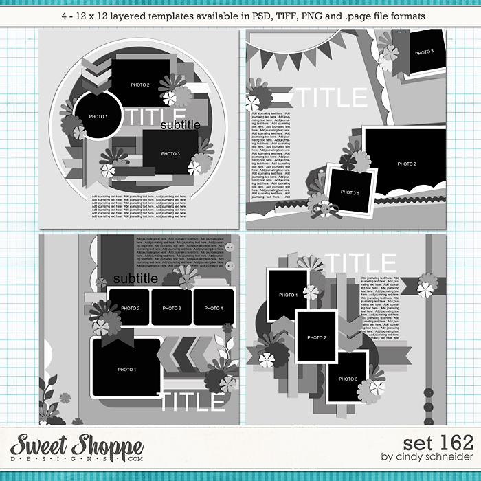 Cindy's Layered Templates - Set 162 by Cindy Schneider